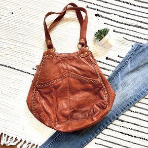 ♓️🅿️Lucky Brand Leather Boho Retro 70s  Bag
